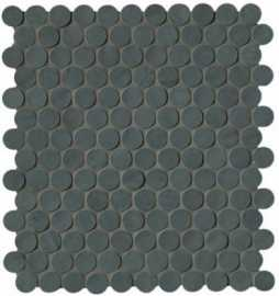 Мозаика Brooklyn Round Carbon Mos. 29.5x32.5 от FAP Ceramiche (Италия)